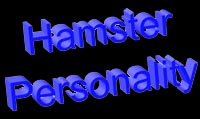 Hamster Personality